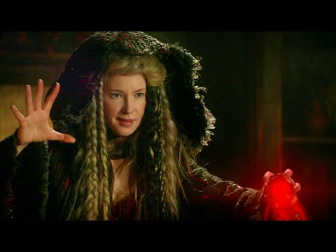 Once Upon A Time 7x11 Gothel Wants Kill Robin Release Leota - Zelena Gives Her Life For Save Robin