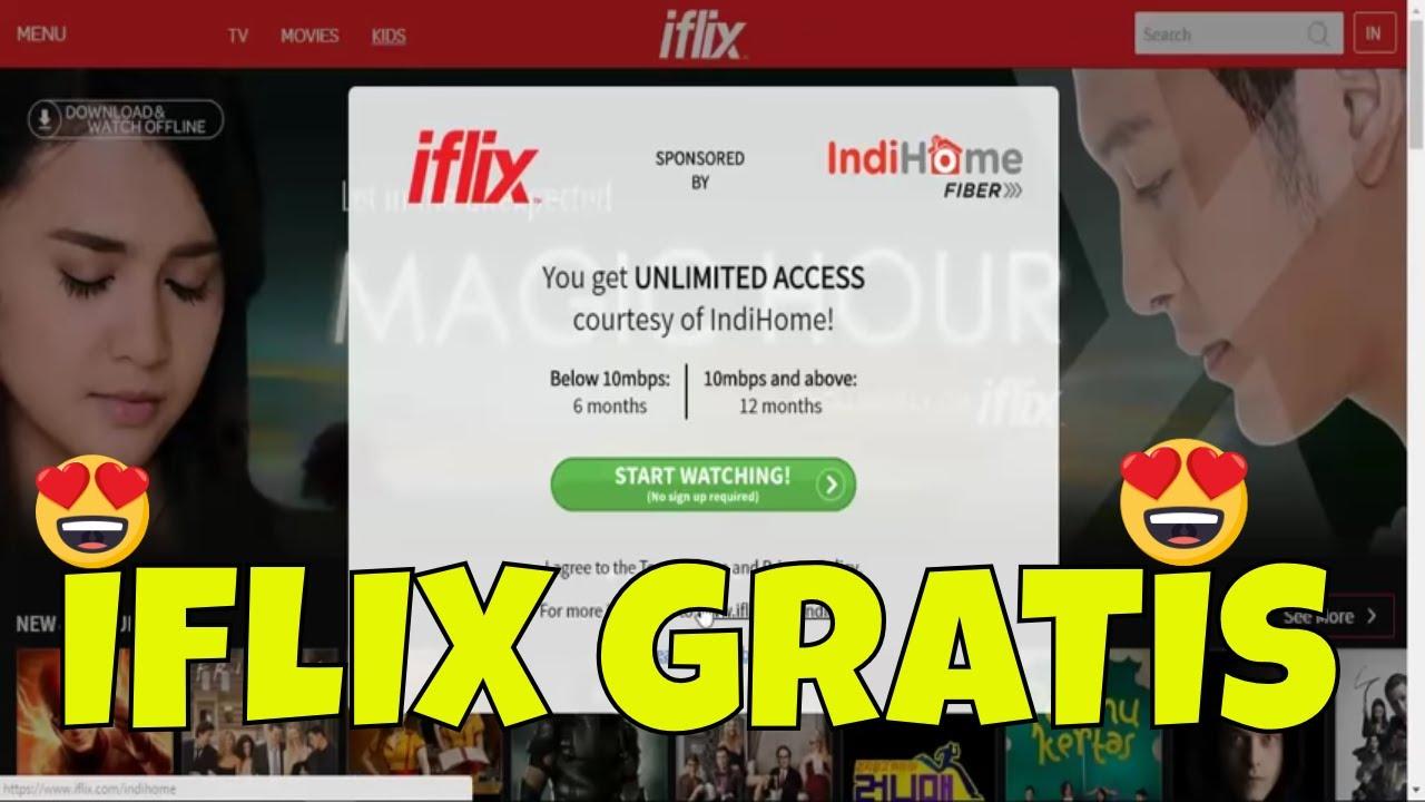 Cara Nonton Iflix Gratis Untuk Pengguna IndiHome