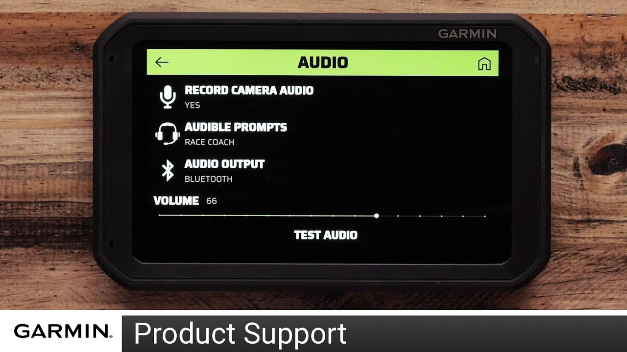 Support: Pairing Garmin Catalyst with Bluetooth® Audio - YouTube