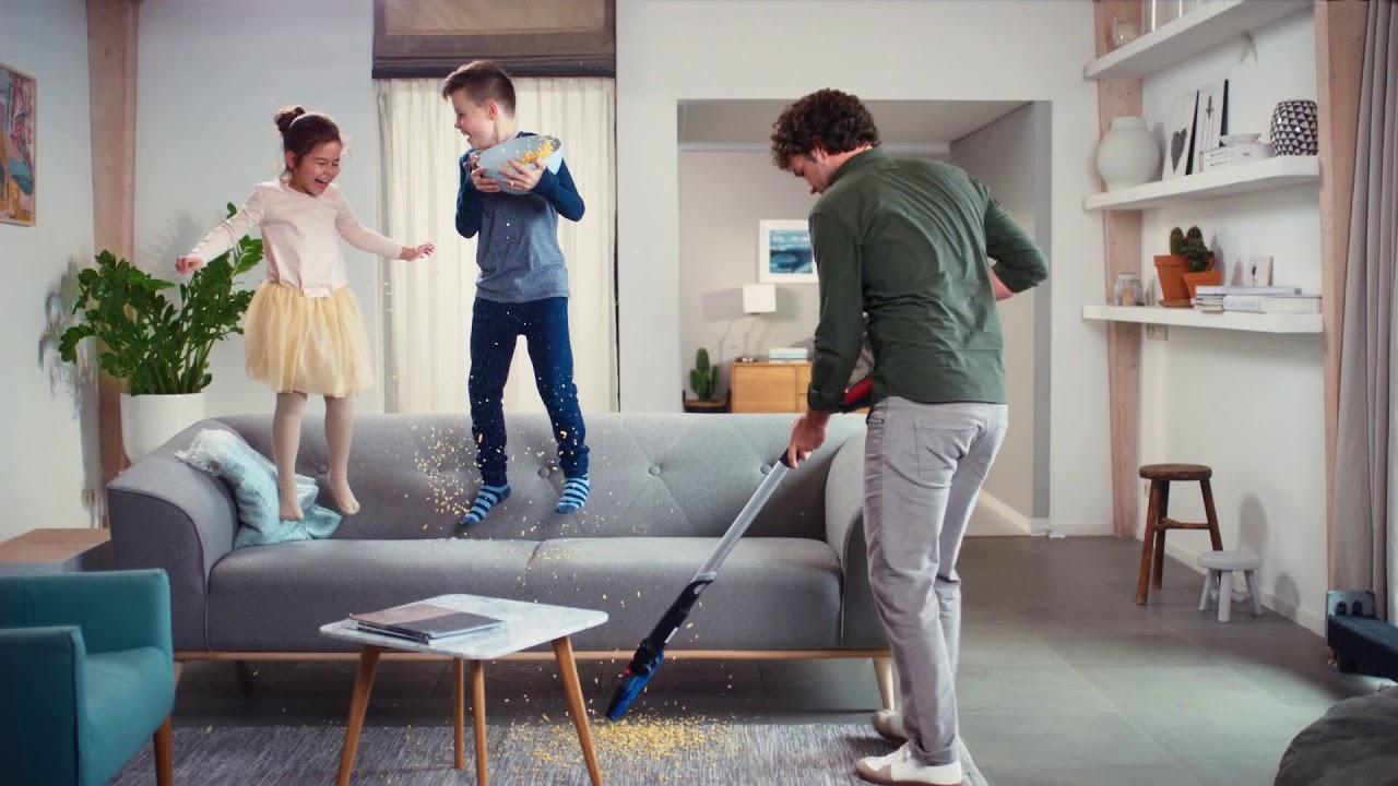 Wygodne sprzątanie z odkurzaczem bezprzewodowym Philips SpeedPro Max
