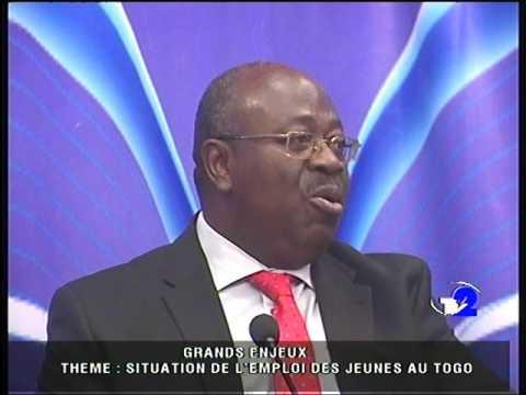 SITUATION DE L'EMPLOI DES JEUNES AU TOGO : GRAND ENJEUX  AVEC LE DG DE L'ANPE Edmond C. AMOUSSOU