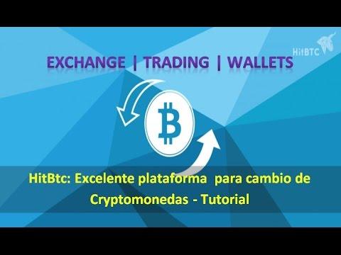 HitBTc: Exchange Criptomonedas | Trading | Wallets | Tutorial en Español |