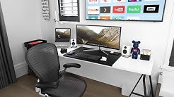 Modern Desk Setup Tour 2019!