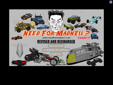 Need for Madness Revised and Recharged 2 some hidden stages