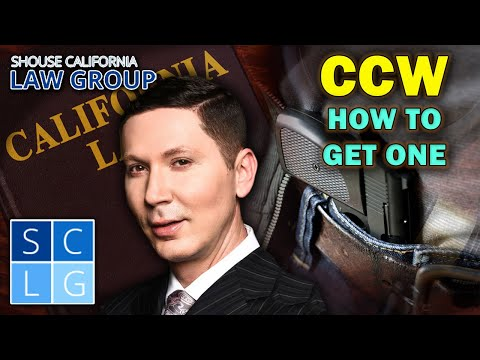 How to get a CCW in California (Former D.A. explains)