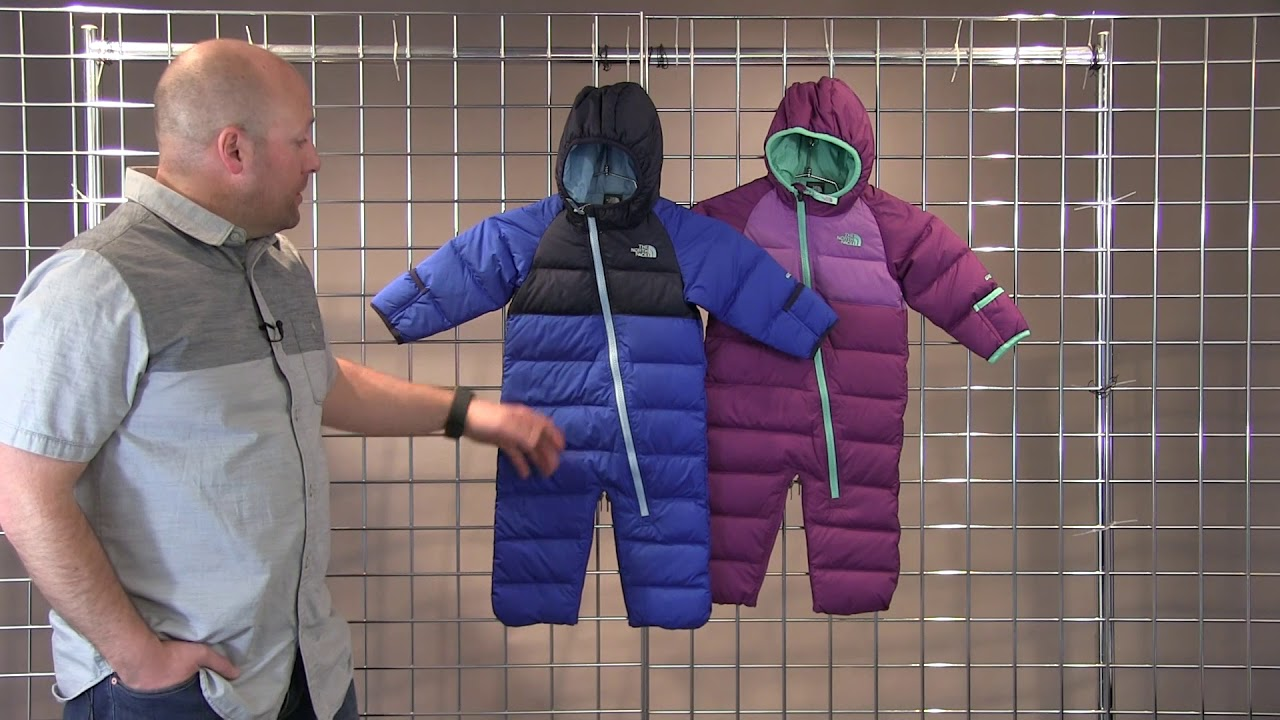 112f2c84c228 The North Face Infant Lil Snuggler Down Bunting 2017-2018 - YouTube