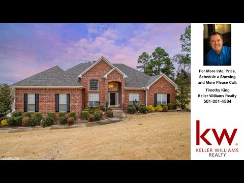 38 Saratoga Drive, Little Rock, AR Presented by Timothy King.