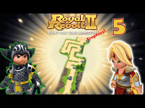 Royal Revolt 2 - Test Your Base - Plouf! #5