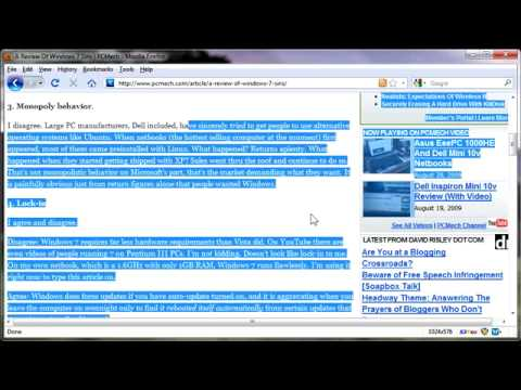 How To Use Caret Browsing  Youtube