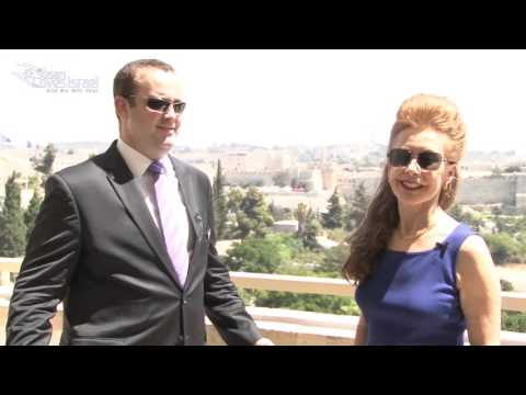 The King David Hotel with Susan Loves Israel