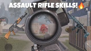 ASSAULT RIFLE SKILLS!