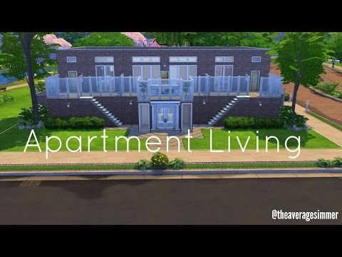 "The Sims 4 | Speed Build | "" Apartment Living """