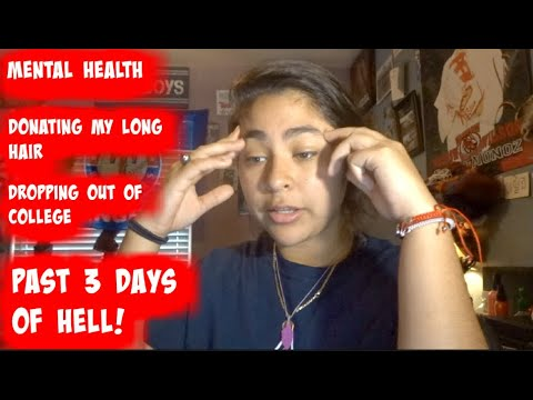 MADE A DECISION OF DONATING MY LONG HAIR! (MENTAL HEALTH UPDATE) - YouTube