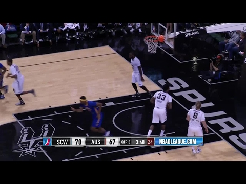 Highlights: Kevon Looney (10 points)  vs. the Spurs, 3/23/2017