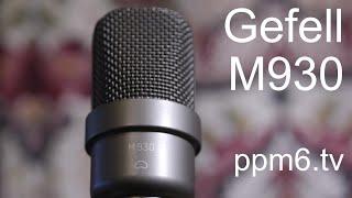 Close working with the Gefell M930 v Austrian Audio OC818 v Neumann BCM 104