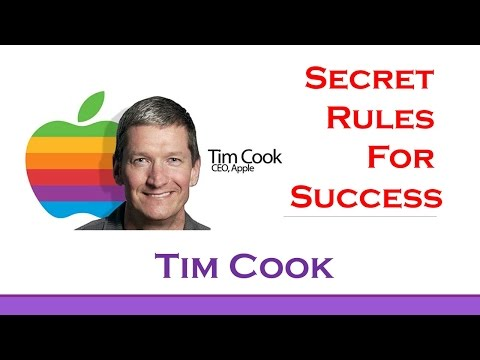 Tim Cook's Top 3 Rules for Success