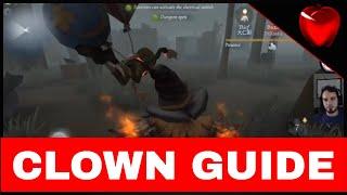 Identity V CLOWN GUIDE - Basic Tips & Tricks for Clown (joker) Hunter on Identity V - FluxrSkilled
