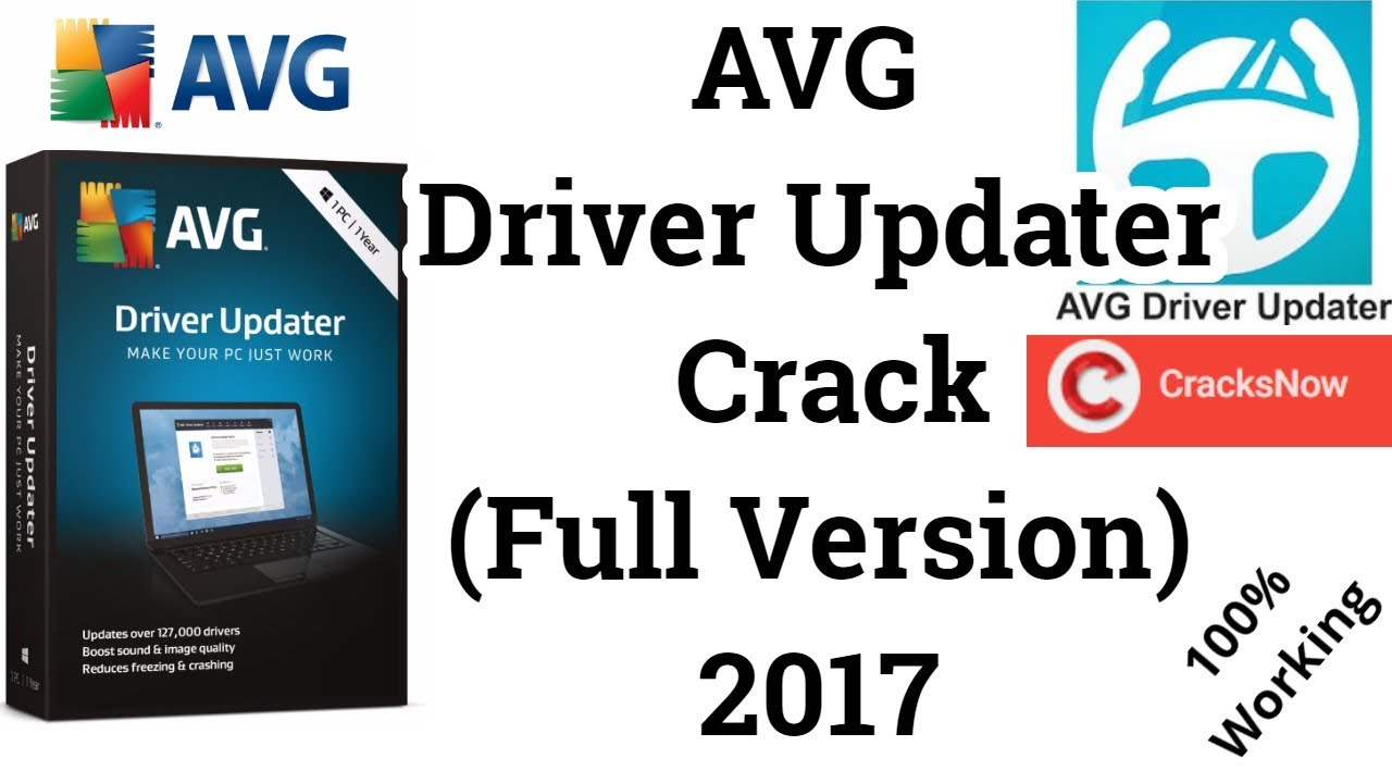 avg driver updater product key 2017