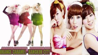 [MP3 DL] Orange Caramel - Bangkok City