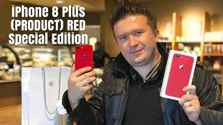 RED iPhone 8 Plus 256gb (PRODUCT) RED Special Edition Apple iPhone Unboxing and Review
