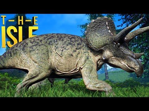 The Isle - Novo Triceratops, Dificuldades De Um Herbívoro! | Dinossauros (#140) (PT-BR)