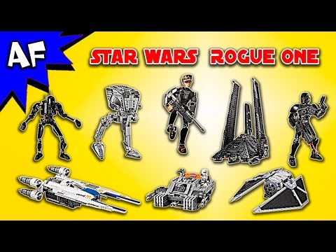 Every Star Wars ROGUE ONE Set - Complete Collection!