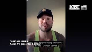 Duncan James Reminds Us To Lean on Each Other