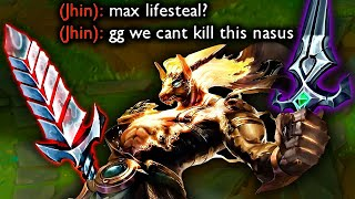 MAX LIFESTEAL NASUS