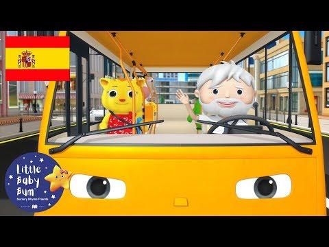 Canciones Infantiles | Las Ruedas del Autobús P. 17 | Dibujos Animados | Little Baby Bum en Español