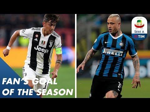 Fan's Goal of the Season   Group D   Serie A