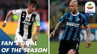 Fan's Goal of the Season | Group D | Serie A