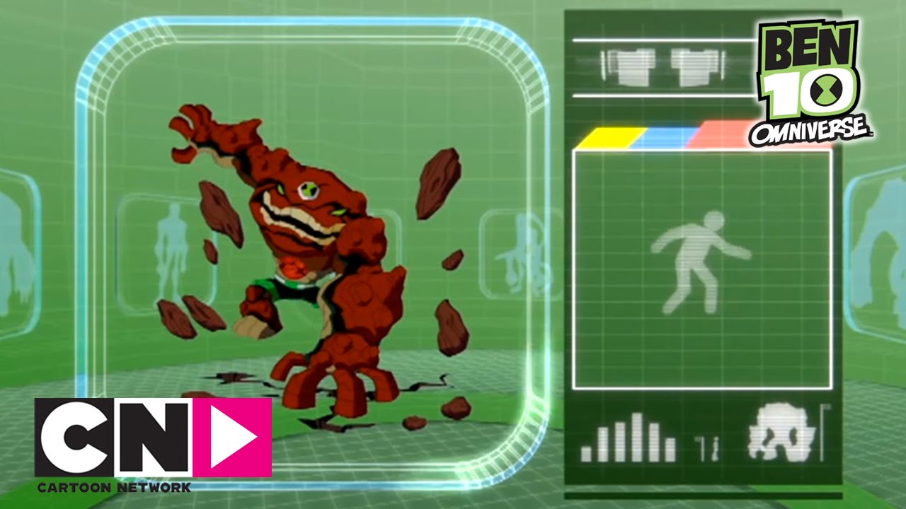 Gravattack Ben 10 Omniverzum Cartoon Network Youtube