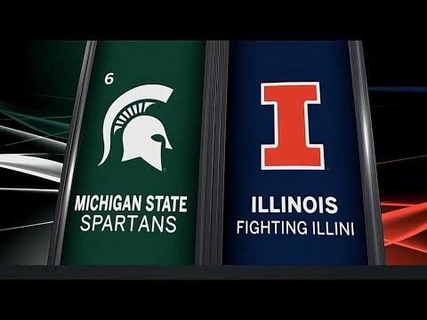 Michigan State at Illinois - Men