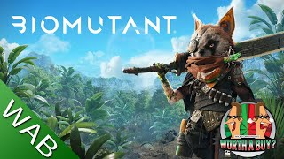 Biomutant Review - Not what I was expecting (Video Game Video Review)