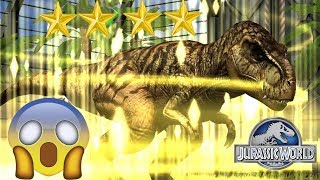 ✔️ TYRANNOSAURUS REX EVOLUTION 4 STAR !! QUÁ MẠNH MẼ - Jurassic World Công Viên Khủng Long