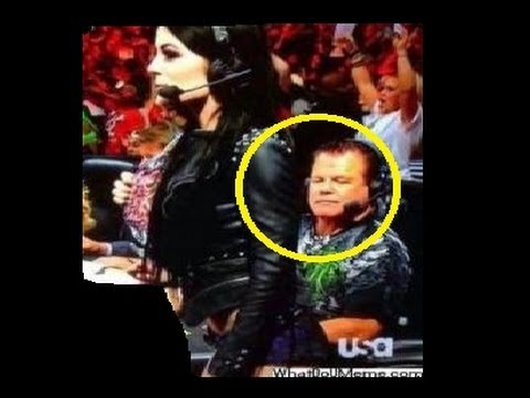 Wrestling Memes Package Jerry Lawler Checks Out Paiges Ass On
