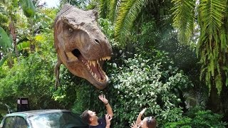 Jurassic World Ride Front Seat POV FPV - Universal Studio Orlando