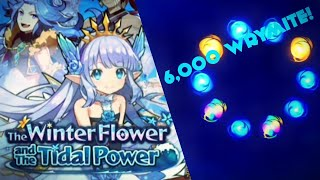 6,000 WRYMITE SUMMONS! **The Winter Flower and the Tidal Power** CRAZY LUCK! - DRAGAILA LOST SUMMONS