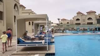 Полный обзор отеля Альбатрос Аква Виста Albatros Aqua Vista 4 в Хургаде Бассейн территория