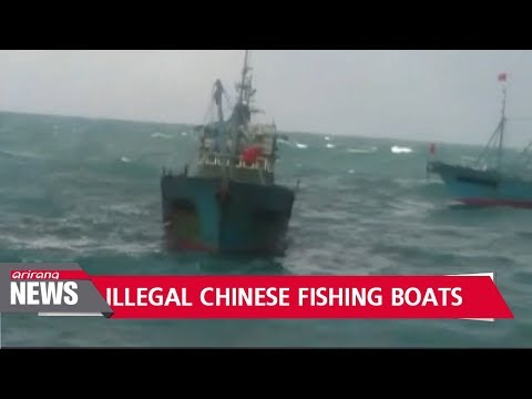 S. Korean Coast Guard fires 200 shots to chase off Chinese fishing boats