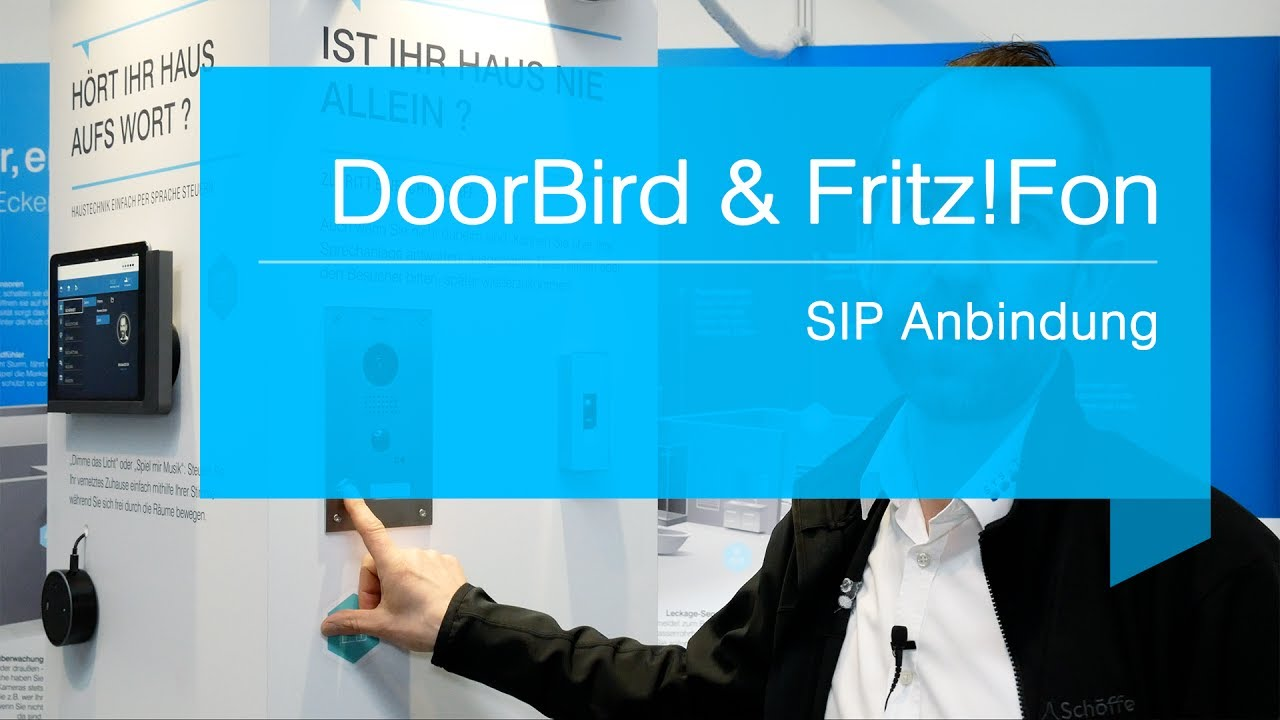Türsprechanlage Wlan Fritzbox Smart Home Doorbird Fritz Fon Youtube