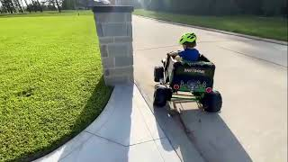 Kids Pretend Play Video with  Toy Cars For Children and Costume for Kids