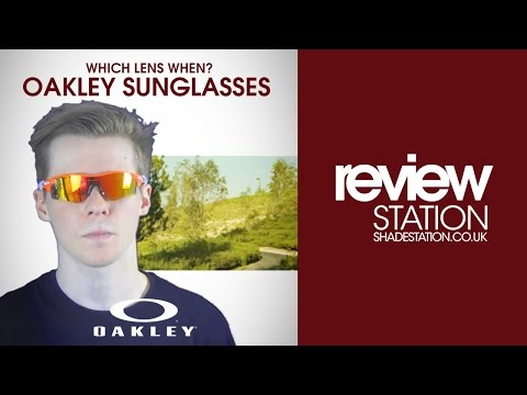 Which Lens When? Oakley Sunglasses | Shade Station