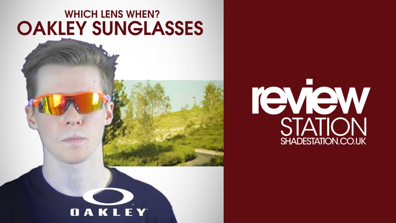8ed07b9ae9d7 Which Lens When? Oakley Sunglasses | Shade Station - YouTube