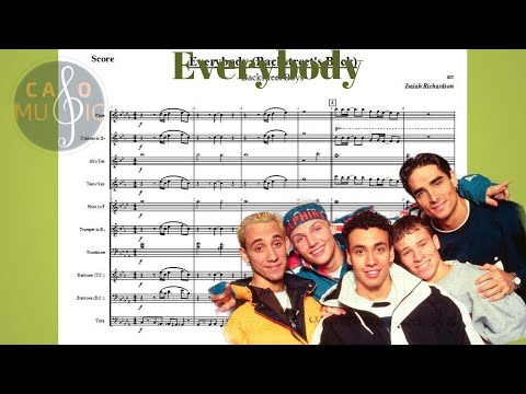 Backstreet Boys - Everybody | Sheet Music For Marching Band