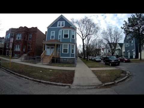 #6. Обзор съемного жилья и района в Чикаго. Район станции Belmont (Blue Line)