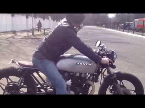 Honda CB450 cafe racer minsk