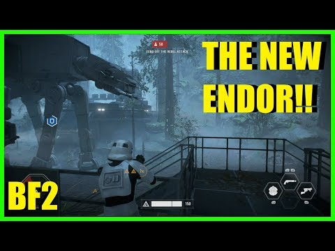Star Wars Battlefront 2 - Galactic assault on Endor! | My 1st ever BF2 match!