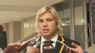Faf de Klerk downplays his role in the Springboks' win