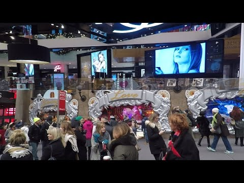 GOPRO HERO 5 HD INSIDE MACYS NEW YORK NYC HERALD SQUARE MANHATTAN CHRISTMAS DECEMBER 2016